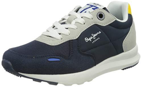 Pepe Jeans York Basic Boy, Zapatillas, Azul Marino, 38 EU
