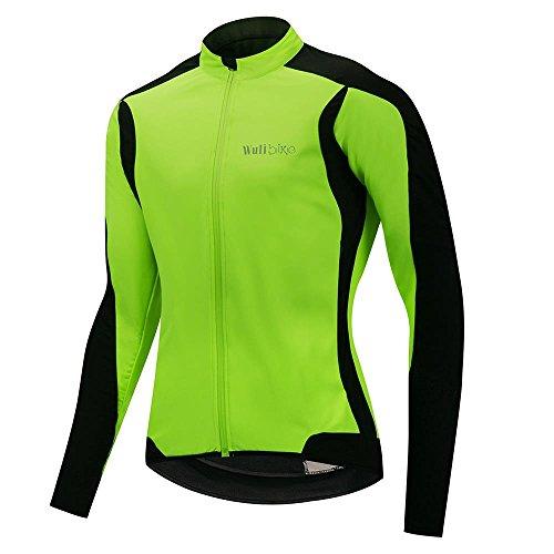 Herren Thermo Radjacke Langarm Rennrad Fahrradmantel Winddicht leicht und weich Winter Radbekleidung
