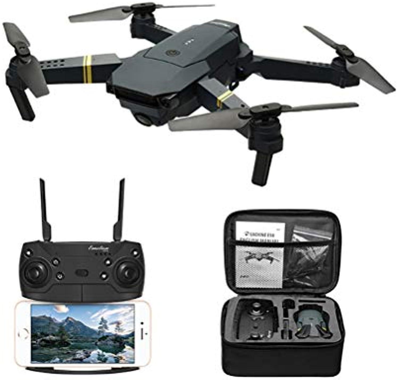 JHSHENGSHI Drohne mit Kamera HD live übertragung,Return to Home,Follow Me,rc quadrocopter ferngesteuert mit brushless Motor,Anfnger und Experte, schwarz