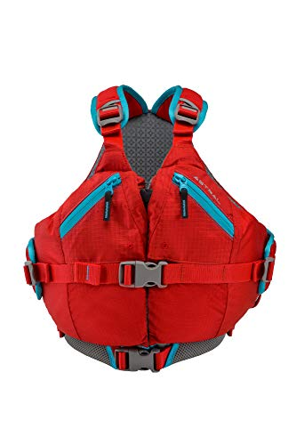 Astral Kids Otter 2.0 Life Jacket PFD for Whitewater, Sailing, and Stand Up Paddle Boarding, Fits Youth 50-90 lbs, Red