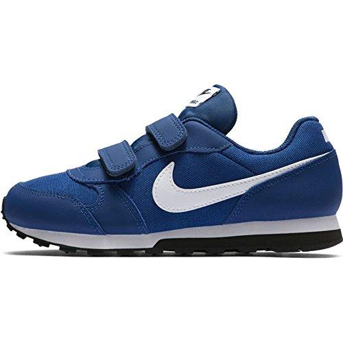 Nike Jungen Md Runner 2 (PSV) Sneakers, Blau (Gym Blue/White/Black 001), 28 EU