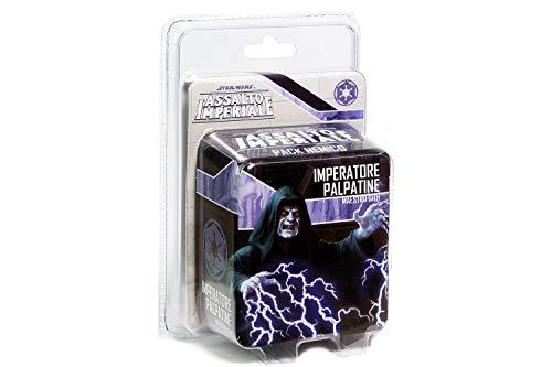 Asmodee - Star Wars Assalto Imperial Expansión Emperador Palpatine Maestro...