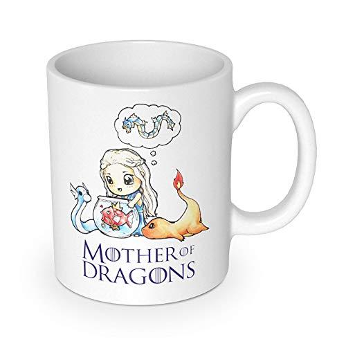 getDigital Mother of Dragons Tasse - Kaffeetasse für Geeks und Anime Liebhaber - 10oz (300ml)