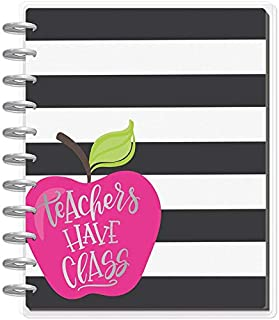 me & my BIG ideas The Happy Planner Teacher Planner, Big Teachers Have Class, August 2019-July 2020 (PLNB-38)