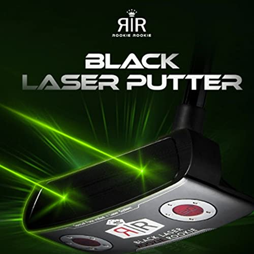 ROOKIE ROOKIE Double Line Black Laser Putter Laser Guide Putting Trainer