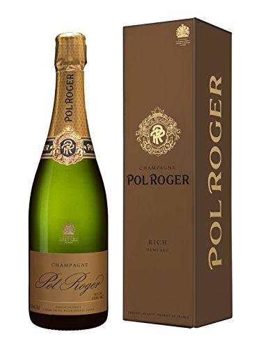 Champagne Pol Roger Rich, Demi-sec, im Etui, 1er Pack (1 x 750 ml)