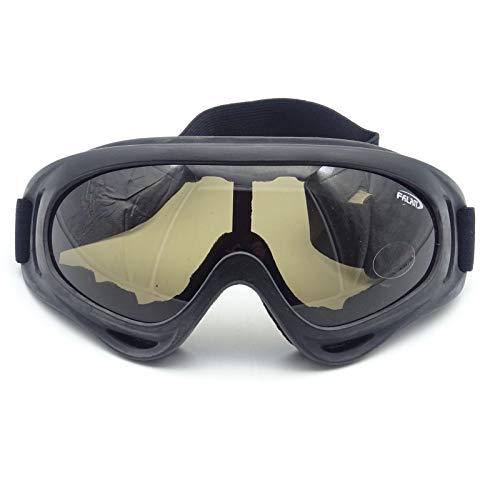 Rayline Schutzbrille X400 Brille Goggles Softair Paintball Outdoor getönt Airsoft jagdbrille Motorrad Fahrrad