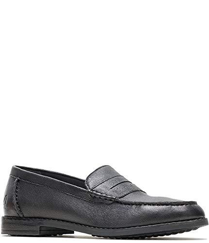 [ハッシュパピー] シューズ 26.0 cm パンプス Wren Leather Loafers Black レディース [並行輸入品]