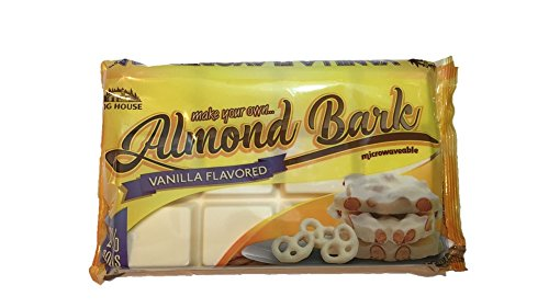 Log House Vanilla Flavored Almond Bark 24 oz package
