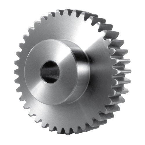 Thomafluid Stirnzahnrad aus Stahl - Modul 0,5-2,0, Modul: 1, Zahnbreite (b): 10 mm, Zähne: 78, 6 Stück