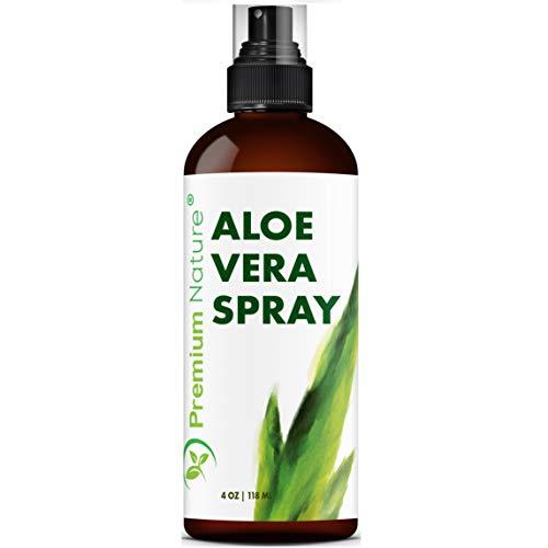 Aloe Vera Spray Aloe Mist - Organic Spray Aloe Vera Gel Facial Aloe Mist Natural Face Soothing Moisturizer Pure Sunburn Real Alo Sun Recovery