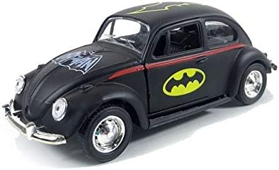Tread Mall™ Batman Cartoon Vintage car | Door Opening Action Classic Friction car for Boys and Girls | Pull Back Vehi...