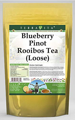 Blueberry Pinot 4 years warranty Rooibos Tea Loose latest 543707 oz 8 ZIN: