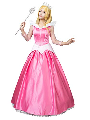 CosFantasy Princess Aurora Cosplay Costume Ball Gown Dress mp002020 (X-Large)