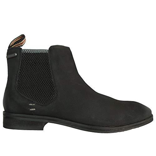Superdry Herren Meteora Chelsea Boot Klassische Stiefel, Schwarz (Black 02a), 42 EU