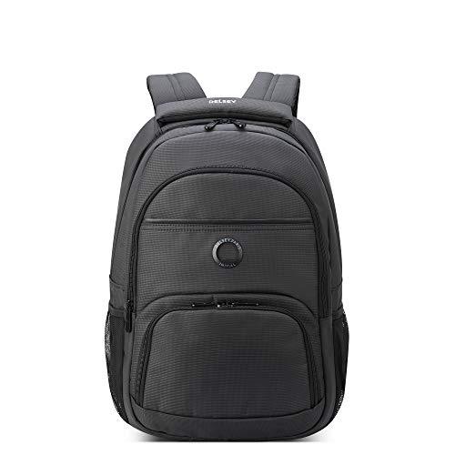 DELSEY Paris Aviator Laptop Backpack, Graphite, 15.6' Sleeve