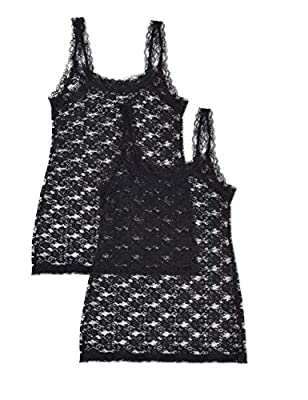Amazon Brand - Iris & Lilly Women's Soft Lace Vest, Black, (Manufacturer size: Large) from Iris & Lilly