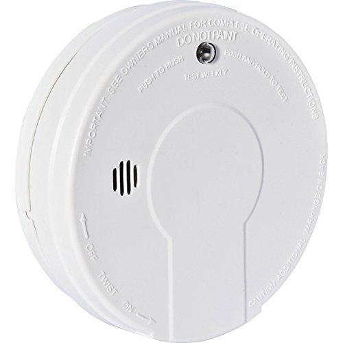 Batería avanzado de monóxido de carbono detector de humos tipografía en zonas cállate y botón de pruebas [unidades 1] con Min 3 años Cleva garantía