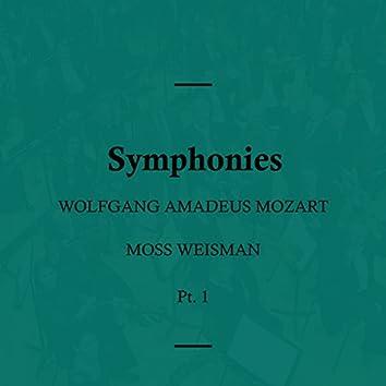 Mozart: Symphonies, Pt. 1