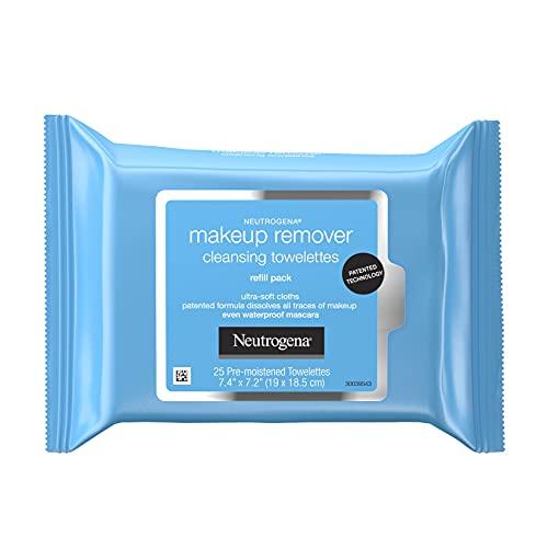 NEUTROGENA NEUTROGENA Make-Up Remover Cleansing Towelettes 25, 0.2 kg Pack of 1
