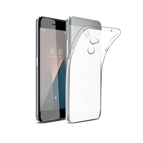 TBOC® Funda Gel TPU Transparente Vodafone Smart V8