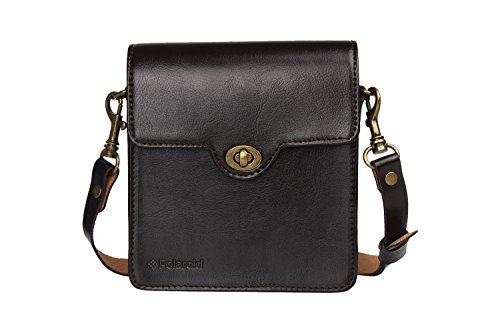 Polaroid POLSMLCBR Shoulder Case Brown Kameratasche und Kameratasche (Shoulder Case, Brown)