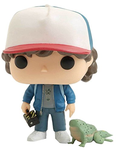 Funko- Stranger Things-Dustin with Dart Exclusive Figurina, Multicolore, 24363