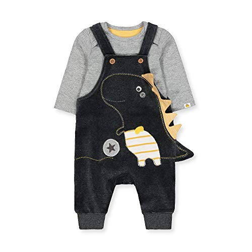 Mothercare NB Mfu Bear Fleece Pramsuit Set Unisex-Bimbi