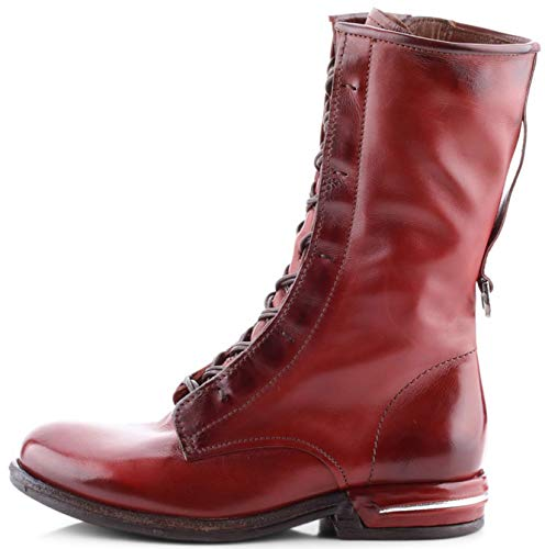 AS98 | Airstep | Stiefelette - rot | Sequoia, Farbe:rot, 36