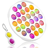Push pop Bubble Sensory Fidget Toy Autism Special Needs Stress Reliever - Great for The Old and The Young (Round Shape)
