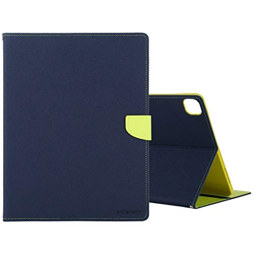 LESLEY LM For Horizontal Flip PU Leather Case with Holder & Card Slots & Wallet iPad Pro 12.9 (2020) 2021 NEW MODEL (Color : Navy)
