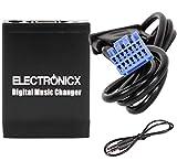 Electronicx Elec-M06-HON1 Adaptador de Musica Digital para Coche USB, SD AUX Cambiador para Honda Acura hasta 2006 Audio