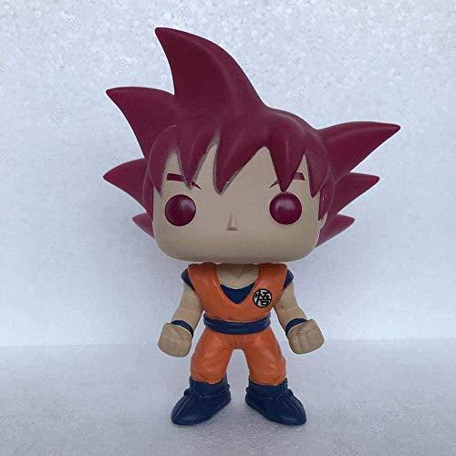 Huhu Figurines d'anime Funko Pop 24 Goku Super Saiyan Dieu Dragon Ball Figurine en Vinyle Jouet
