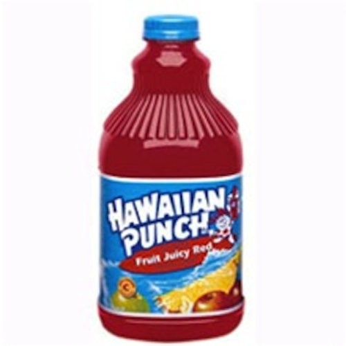 Hawaiian Punch Hawaiian Punch Red, 64-Ounce (Pack of 8)