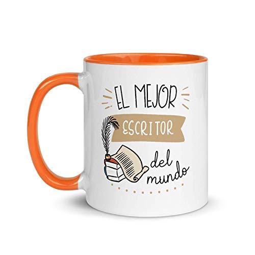 Kembilove Taza de Desayuno de la Mejor Opositora del Mundo – Tazas de Café para Profesionales y Trabajadores para la Oficina – Tazas de Té de Color de Profesiones – Taza de Cerámica de 350 ml