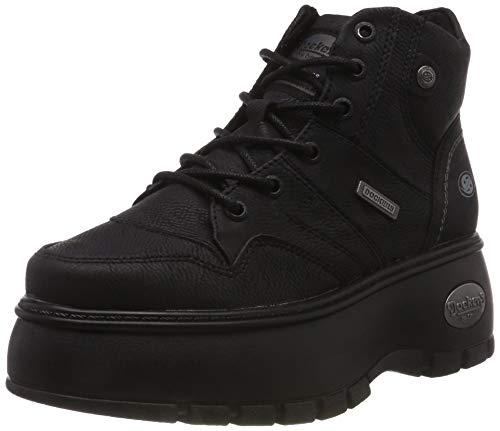 Dockers by Gerli Damen 43DR202 Hohe Sneaker, Schwarz (Schwarz 620100), 39 EU