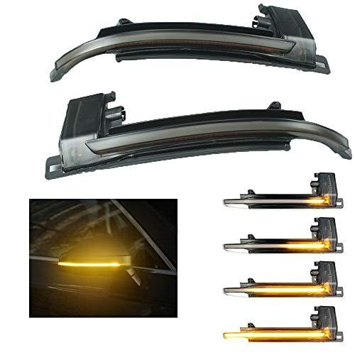 Dynamische LED-Außenspiegel-Blinker, Ersatz für A-udi A3 A4 A5 Q3 8P B8
