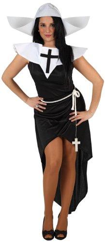Atosa - 6054 - Costume - Déguisement Femme Bonne Sœur Sexy - Taille 2