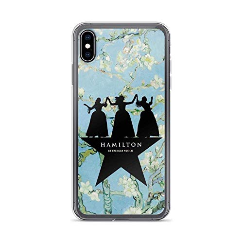 FGHSFRT Compatible with iPhone XR Case Hamilton Broadway Star Schuyler Sisters American Musical Pure Clear Phone Cases Cover