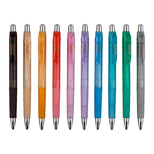 Idena 500275 - Kugelschreiber, 10 Stück blau