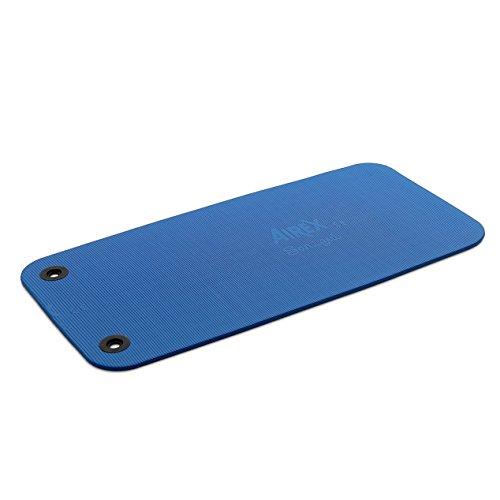 AIREX Fitness 120, Gymnastikmatte, blau, mit Spezial-֖sen, ca. 120 x 60 x 1,5 cm