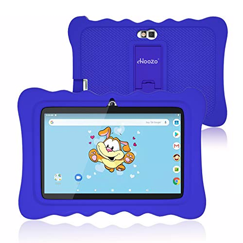Kids Tablet, 7 Inch Andriod 9.0 Tablet for Kids, 2GB +16GB, Kids Mode Pre-Installed, Educational Apps, Games, Camera and WiFi - Kids-Proof Case Blue