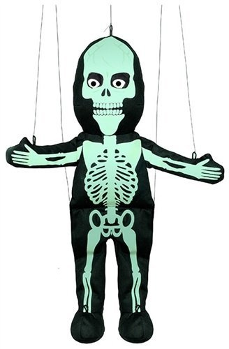 Skeleton (Glow-in-The-Dark) Marionette String Puppet