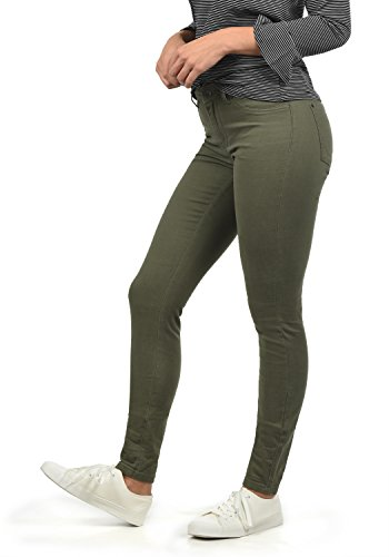 ONLY Lara Super Stretch Damen Jeans Denim Hose Röhrenjeans Aus Stretch-Material Skinny Fit, Farbe:Grape Leaf, Größe:XS/ L32