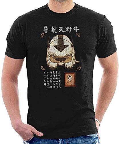 Avatar The Last Airbender Appa Missing Poster Herren T-Shirt Gr. L, multi