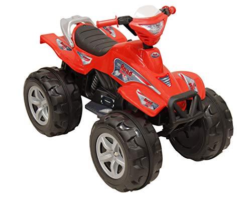 Prinsel Moto Eléctrica Road Boy 6V Ride On, colorRojo