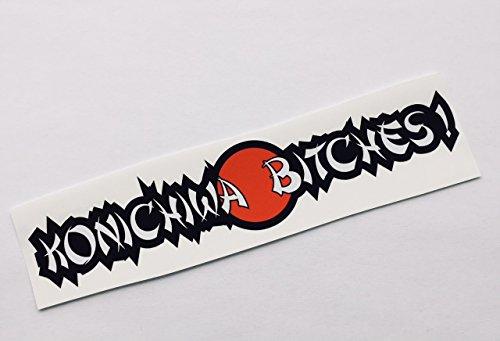 Schönheits Shop Konichiwa Bitches Autoaufkleber Tuning Sticker Dub Decal Dapper Illest Aufkleber Shocker Auto