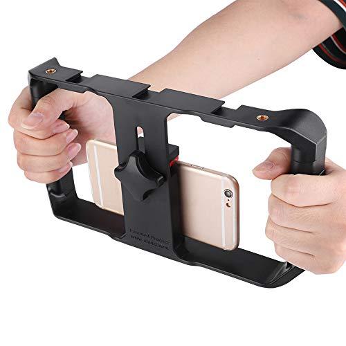 Marco estabilizador Soporte estabilizador Diseño de resorte universal, para teléfono inteligente
