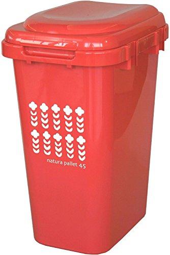 平和工業 ゴミ箱 ジョイントペール 45L ナチュラルレッド