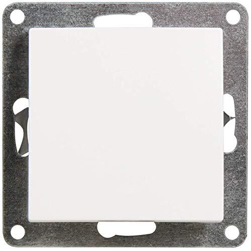 MC POWER - Taster | FLAIR | 250V~/10A, UP, weiß, matt